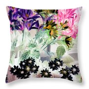 Country Comfort - Photopower 528 Throw Pillow