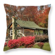 Country Cottage II Throw Pillow