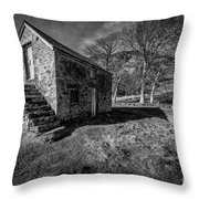Country Cottage V2 Throw Pillow