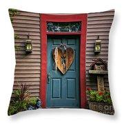 Country Door Throw Pillow