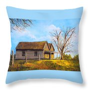Country Duplex Throw Pillow