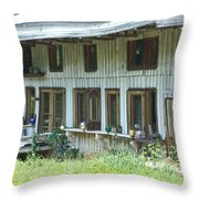 Country Gazing Throw Pillow