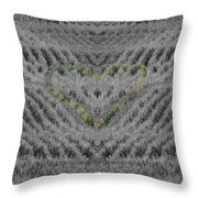 Country Heart Throw Pillow