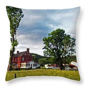 Country Home Throw Pillow
