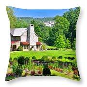 Country Inn Throw Pillow