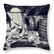 Country Kitchen II Throw Pillow