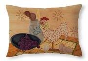 Country Kitchen Throw Pillow