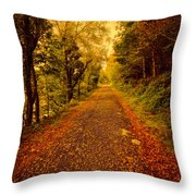 Country Lane V2 Throw Pillow