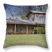 Country Life Throw Pillow by Betty LaRue