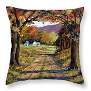 Country Livin  Throw Pillow