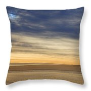 Country Morning Sky Throw Pillow