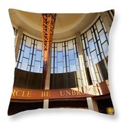 Country Music Hall Of Fame Throw Pillow