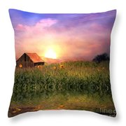 Country Paradise Throw Pillow