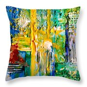Country Pastures Throw Pillow