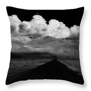 Country Road Throw Pillow by Cat Connor