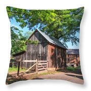 Country Road Farm Throw Pillow