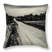 Country Road Take Me Home 1. Throw Pillow