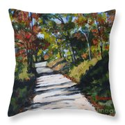 Country Road Two Throw Pillow