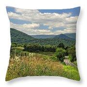 Country Roads Take Me Home Throw Pillow