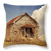 Country Schoolhouse  Throw Pillow