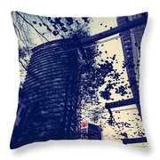 Country Smell City Stench  Throw Pillow