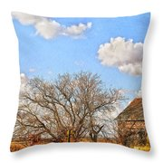 Country Smell Throw Pillow