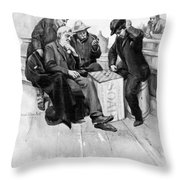 Country Store, 1906 Throw Pillow
