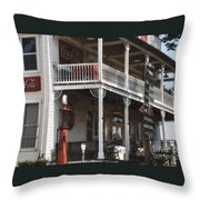 Country Store 2 Throw Pillow