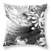 Country Summer - Bw 05 Throw Pillow