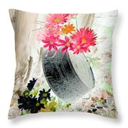 Country Summer - Photopower 1501 Throw Pillow