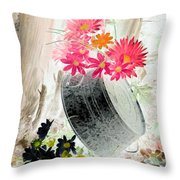 Country Summer - Photopower 1502 Throw Pillow