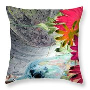 Country Summer - Photopower 1511 Throw Pillow