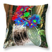 Country Summer - Photopower 1514 Throw Pillow