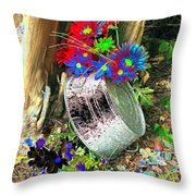 Country Summer - Photopower 1516 Throw Pillow