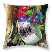 Country Summer - Photopower 1517 Throw Pillow