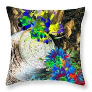 Country Summer - Photopower 1519 Throw Pillow