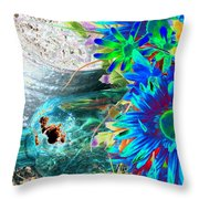 Country Summer - Photopower 1520 Throw Pillow