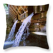 Country Waterfall Throw Pillow