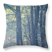 Country Woodlands Throw Pillow