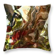 Countryside Creatures Throw Pillow