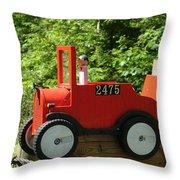 Countryside Mailbox #12 Throw Pillow