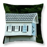 Countryside Mailbox #23 Throw Pillow