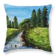 Countryside Throw Pillow
