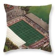 County Ground - Swindon Town Throw Pillow