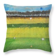 County S Throw Pillow