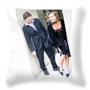 Couple 25 Throw Pillow