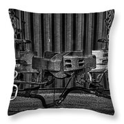 Coupled In Ride Mode Throw Pillow