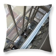 Courthouse Arcitecture Throw Pillow