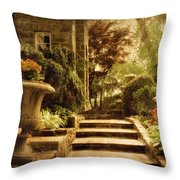 Courting Spring Throw Pillow