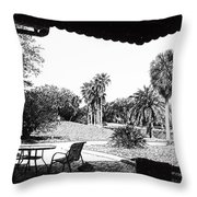 Cove Cay Country Club Throw Pillow